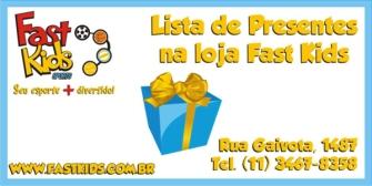 Cartão - Lista de Presentes