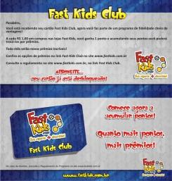 Welcome Kit do Cartão de Fidelidade