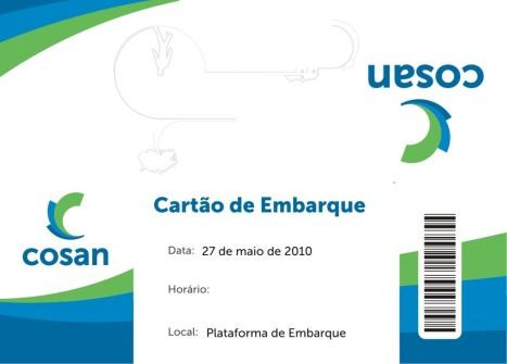 Cartão de Embarque