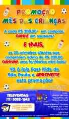 Mailing Promo Mes Crianças - Gaivota